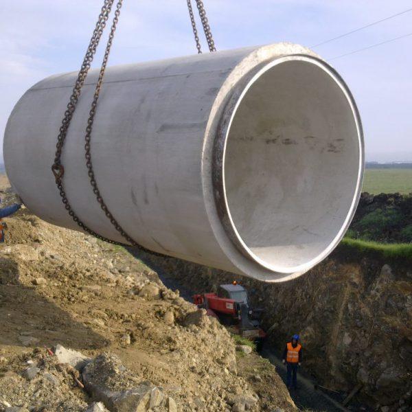 Montagem de tubos